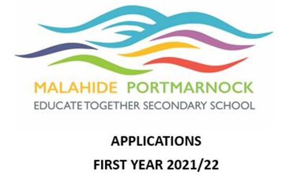 1st Year Admissions for 21/22