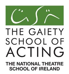 Patrtnership with The Gaiety School of Acting.